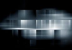 Svart glödande bakgrund vektor illustrationer