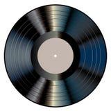 Svart grå LP Arkivbilder