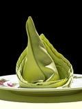 svart grön servett för bakgrund Royaltyfri Fotografi