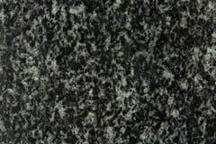 Svart granitbakgrund Royaltyfria Bilder