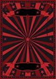 svart grungered för bakgrund royaltyfri illustrationer
