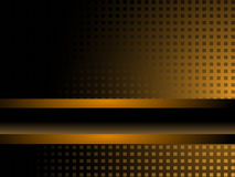 svart guld för bakgrund Royaltyfria Bilder