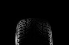 svart gummihjul Royaltyfria Foton