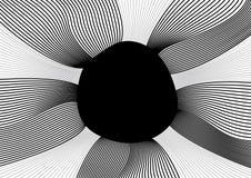 svart hål Arkivfoton