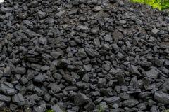Svart hög för kol royaltyfri foto