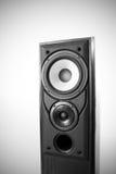svart högtalare Royaltyfri Fotografi