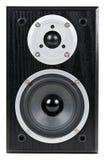 svart högtalare Fotografering för Bildbyråer