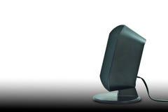 svart högtalare royaltyfri bild