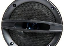 Svart högtalare Arkivfoto