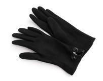 svart handskeull royaltyfria foton
