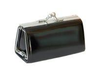 svart handväska Arkivbild