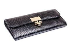 svart handväska Royaltyfri Foto