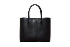 svart handväskakvinna Royaltyfria Foton