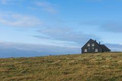 Svart hus i England Fotografering för Bildbyråer
