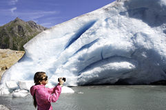 Svart is i Norge Fotografering för Bildbyråer