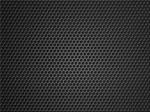 Svart illustration för metallrasterbakgrund 3d fotografering för bildbyråer