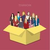 svart isolerad teamwork för begrepp 3d illustration Royaltyfria Foton