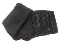 svart jeans Arkivbilder