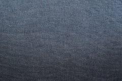 svart jeanstextur Royaltyfria Bilder