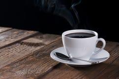 svart kaffe Arkivbilder