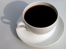svart kaffe arkivfoto