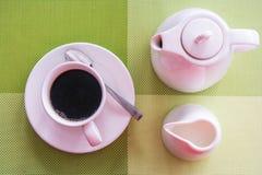 svart kaffe arkivfoton