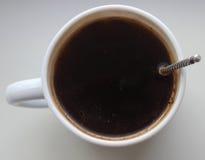 svart kaffe Royaltyfri Foto