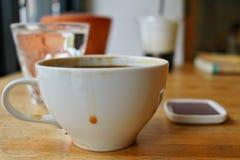 svart kaffe Royaltyfria Foton