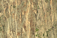 Svart kanjon Royaltyfri Fotografi