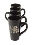 svart kinesisk för koppar tea fot Royaltyfri Fotografi