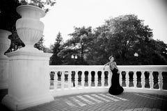 svart klänning Royaltyfria Foton