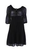 svart klänning little Fotografering för Bildbyråer