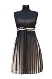 svart klänningsommar Arkivbild