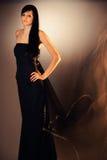 svart klänning Royaltyfri Foto