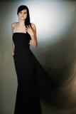 svart klänning Royaltyfri Bild