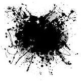 svart klick stock illustrationer