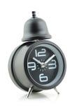 svart klocka för alarm Arkivbilder