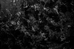 Svart knäckt textur kan användas för bakgrund Svart, mörkt och grått abstrakt cement royaltyfri foto