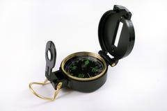 svart kompass Fotografering för Bildbyråer