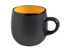 svart kopp royaltyfri fotografi