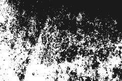 Svart kornig textur på vit Royaltyfri Fotografi
