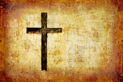 svart kors Royaltyfri Foto