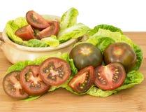 Svart Krim tomat Arkivbild