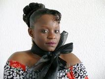 svart kvinnabarn Arkivbilder