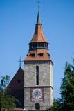 svart kyrka Royaltyfri Bild