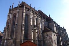svart kyrka Arkivbilder