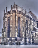svart kyrka Arkivfoton