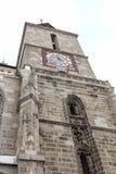 Svart kyrka Brasov Rumänien 5 Arkivfoto