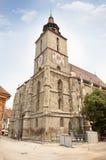 Svart kyrka (den Biserica neagraen). Brasov. Rumänien Royaltyfri Fotografi