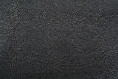 svart läder Royaltyfri Fotografi